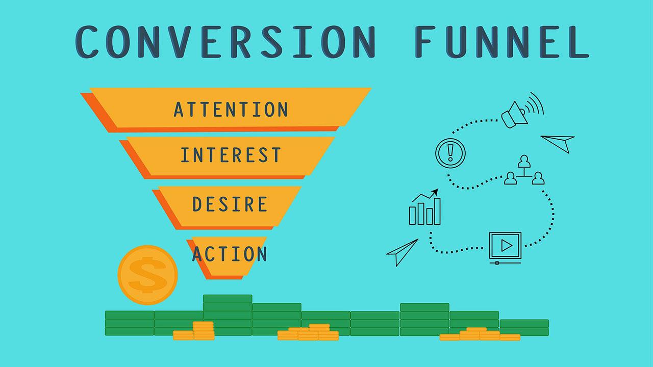 Informationen über Conversion Funnel